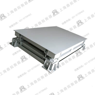 秦皇岛三层弹簧缓冲电子平台秤,10吨电子地磅