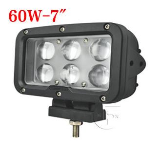 60W越野车改装射灯 长条LED工作灯