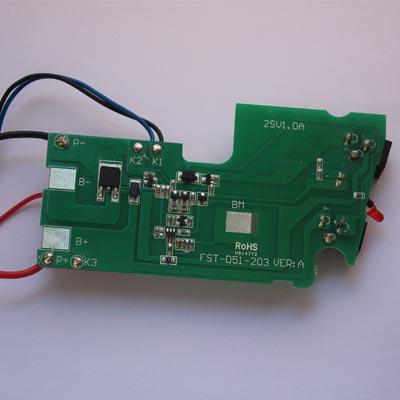公司成功开发出动力锂电池智能保护电路