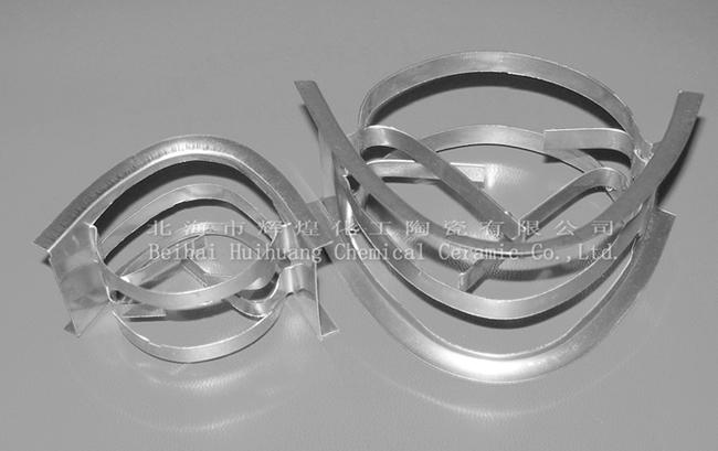 金属矩鞍环有多种材质的金属散堆填料