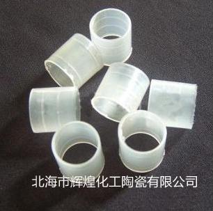 塑料拉西环图片(塑料散堆填料)