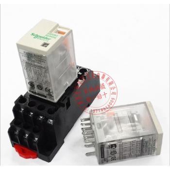 原装正品施耐德小型中间继电器rxm4lb2p7