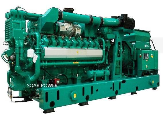 供应康明斯燃气发电机组(315KW~2,000KW)