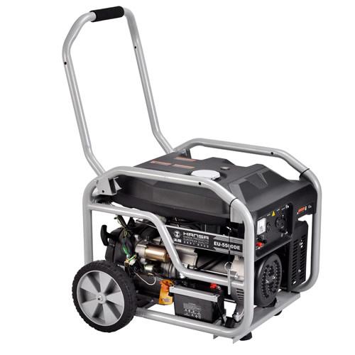 移动式静音5kw汽油发电机