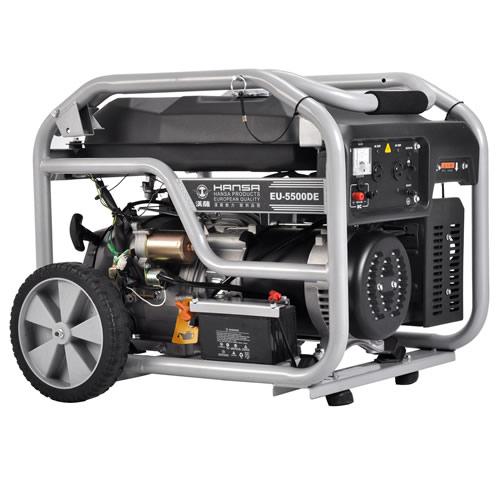 电启动静音家用小型汽油发电机