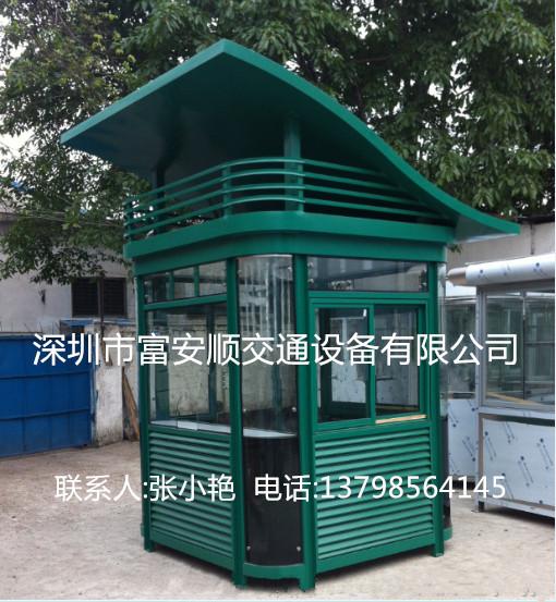 平方米钢化玻璃弧形顶保安岗亭钢结构阳光房基础建材不锈钢