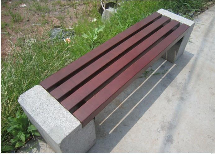 户外大理石平凳座椅zh-y5006