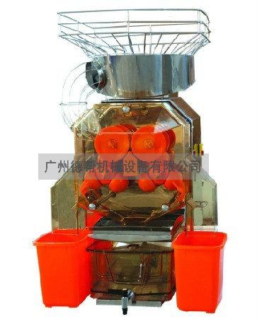 鲜橙榨汁机多少钱一台