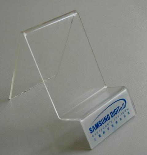 西安亚克力手机展示道具低价生产批发