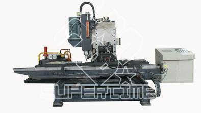 连接板冲孔高效装备 硕超数控液压冲孔机