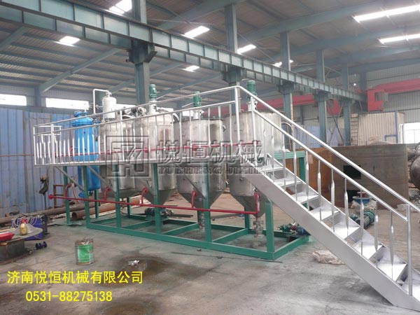 安徽食用油精炼油生产设备