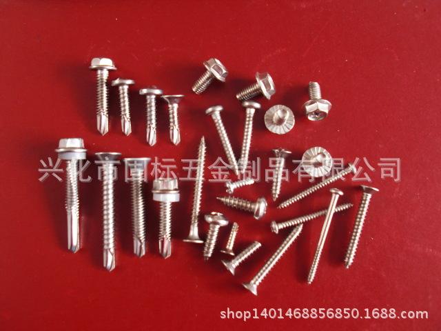 【优质供应】不锈钢自攻自钻螺钉非杯定做