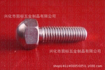 【优质供应】304.410不锈钢盖形螺栓非标定做