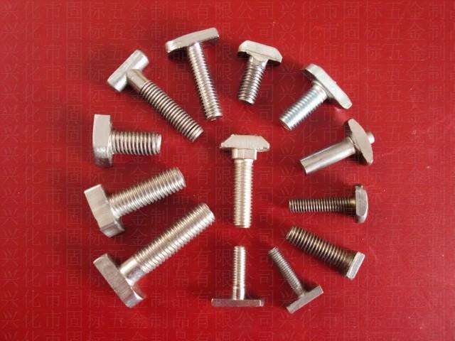 [优质供应]不锈钢T型螺丝 非标定做