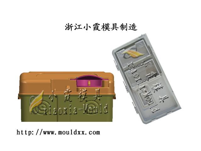 浙江塑胶电表箱模具