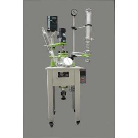 单层玻璃反应釜HEB-10L