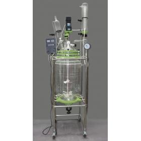 双层玻璃反应釜-100L