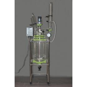 玻璃反应釜/双层玻璃反应釜