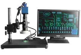 单筒视频显微镜 GR001TV-130XGA-SD