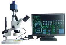 三目体视视频显微镜(XGA型) GRGHT-2F-XGA