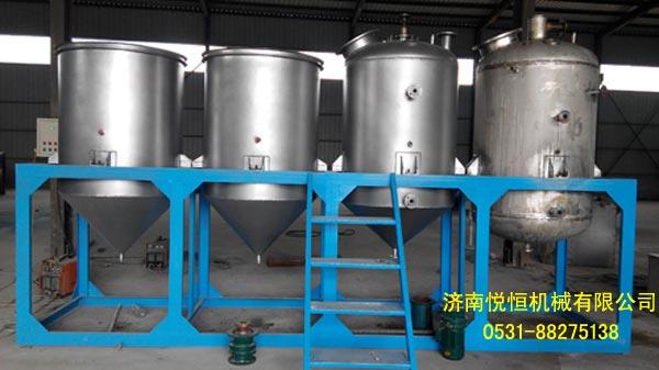 湖南食用油精炼油生产设备