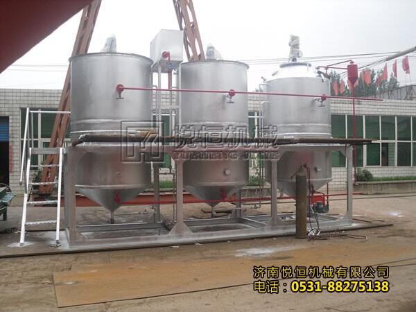 山西食用油精炼油生产设备