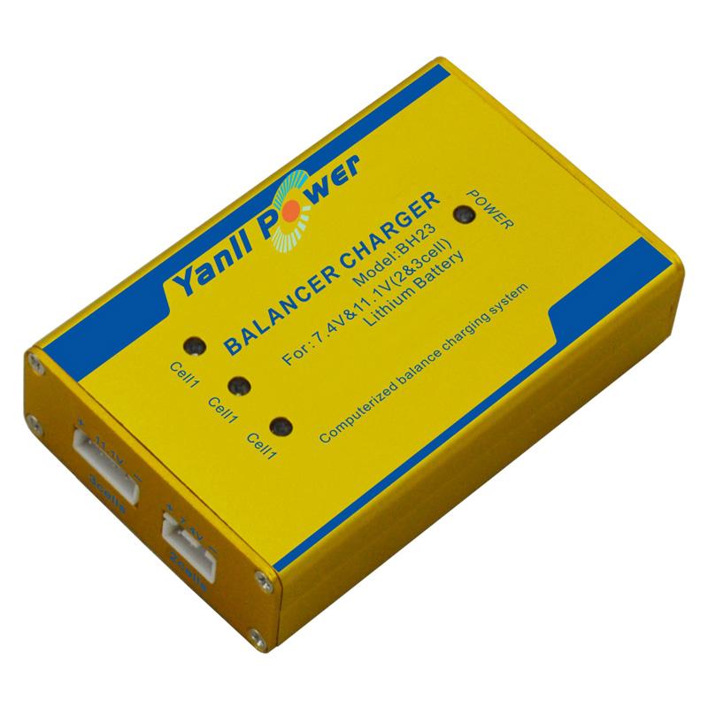 锂电独立平衡充电器 金属外壳