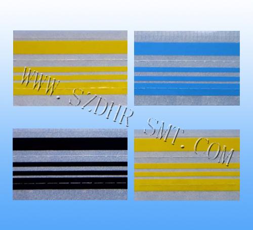 SMT专用接料带黑色黄色蓝色防静电厂家直销