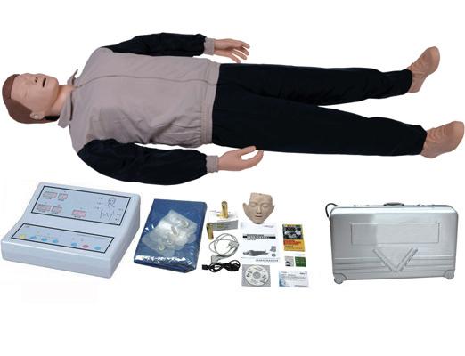 全自动电脑心肺复苏模拟人,人工呼吸假人