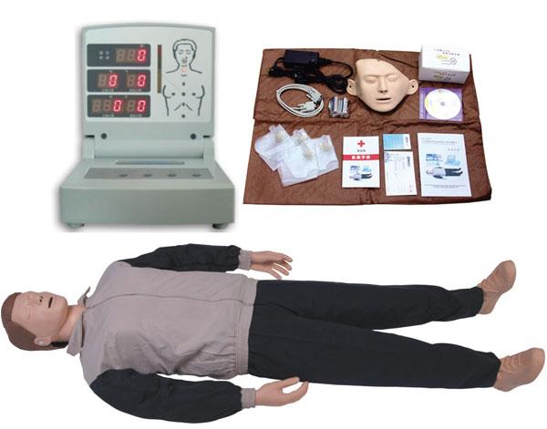 电脑心肺复苏模拟人,急救训练人体模型