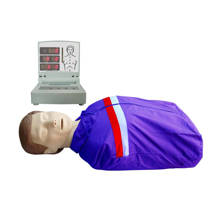 半身心肺复苏模拟人,人工呼吸假人