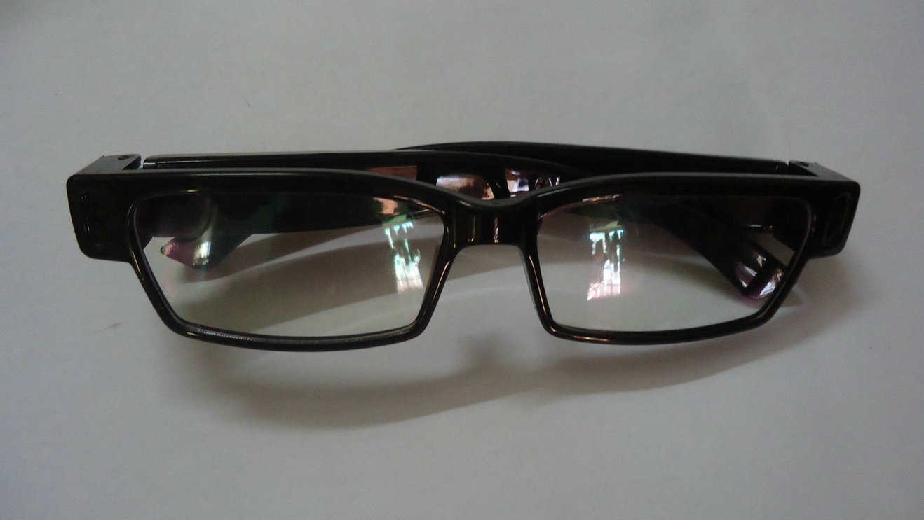 厂家低价批发 V14全框平光眼镜高清摄像机