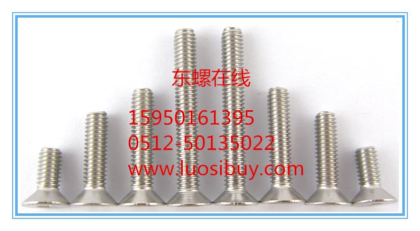 SUS316-DIN7991不锈钢沉头内六角螺丝