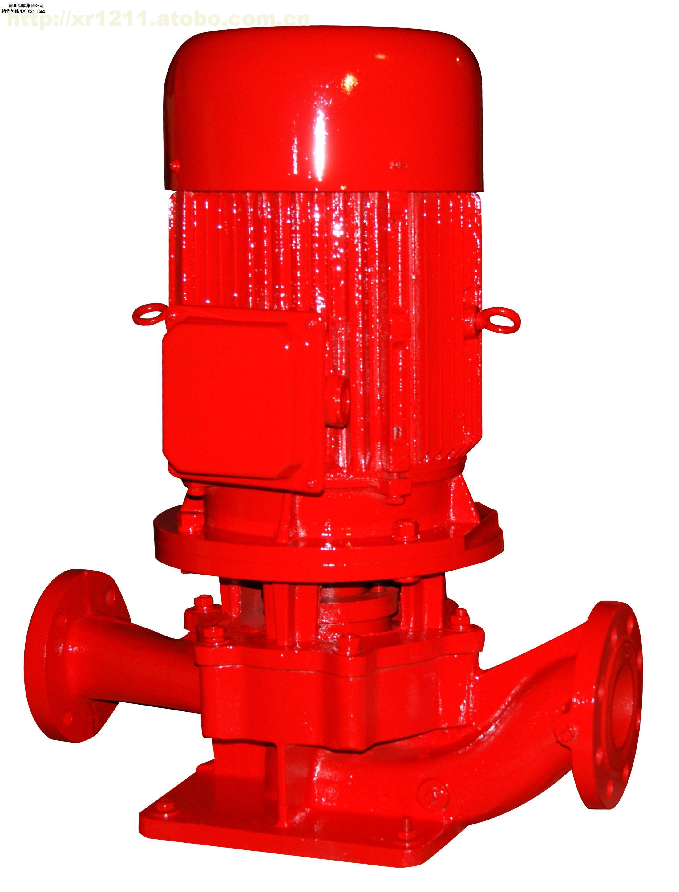 消防泵,消防喷淋泵,消防恒压切线泵,消火栓泵,供输送不含固体颗粒的清水及物理化学性质类似于水的液体之用,主要用于消防系统管道增压送水,也可适用于工业和城市给排水,高层建筑增压送水、远距离送水、采暖、浴室、锅炉冷暖水循环、增压空调制冷系统送水及设备配套等场合。