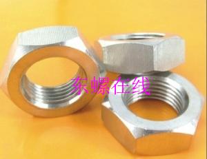 A4-GB6172不锈钢六角薄螺母 厂家 批发 价格