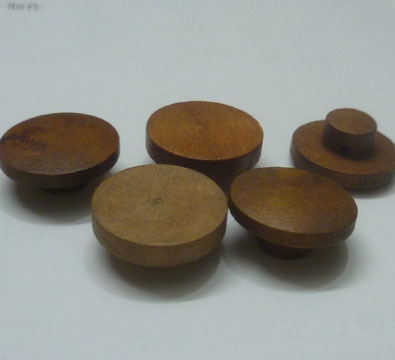 木制蘑菇扣 高脚木钮