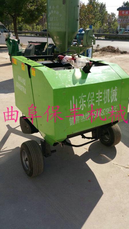自走式玉米秸秆打捆机全面升级