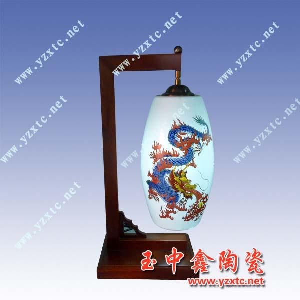 供应青花手绘陶瓷灯陶瓷灯具批发