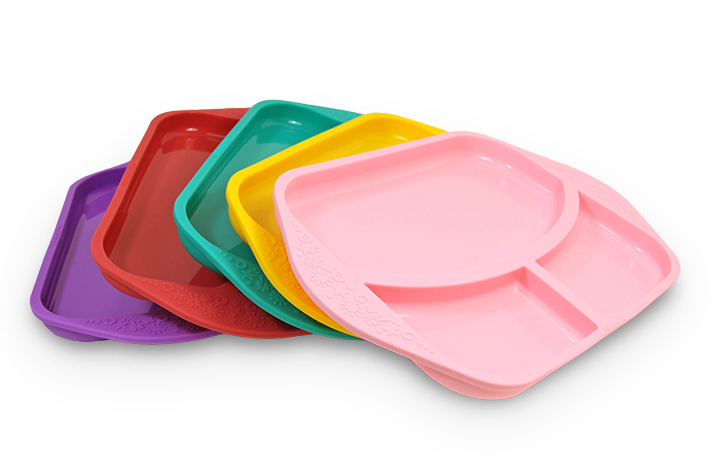 胶餐盘,分格托盘