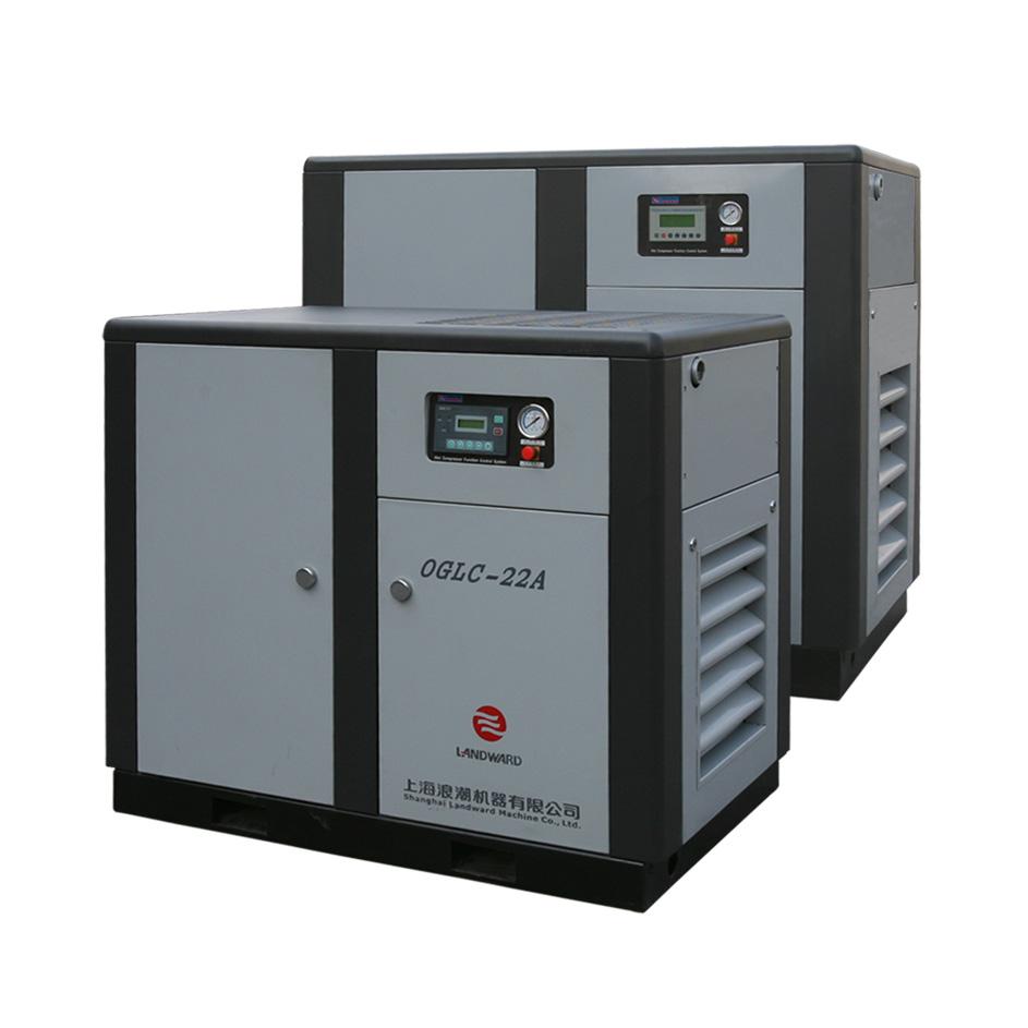 面粉厂专用空压机 螺杆空压机 无油空压机