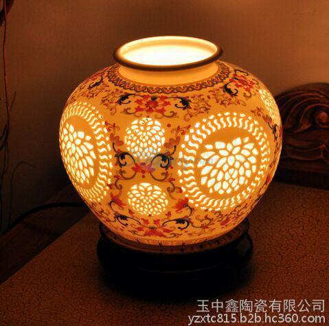 供应陶瓷落地灯具陶瓷装饰灯客厅摆设台灯