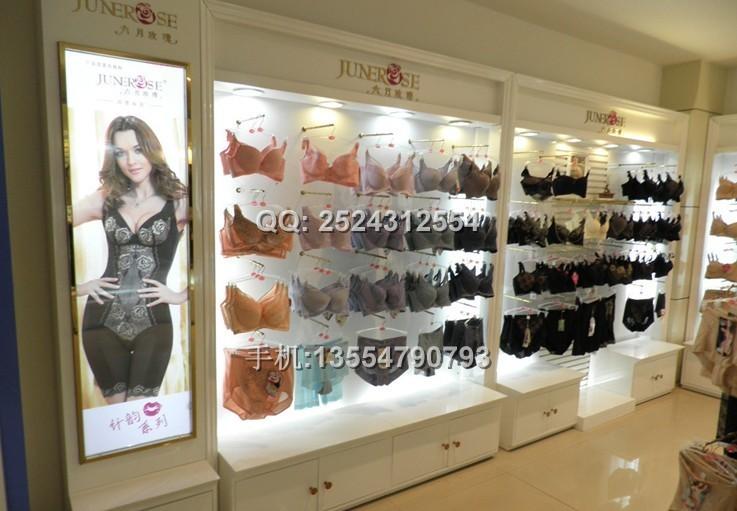 深圳内衣展示柜厂/内衣展示柜设计/内衣展示柜制作厂家