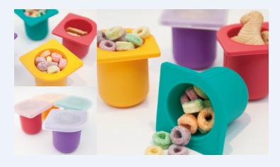 MARCUS&MARCUS 宝宝多功能储食保鲜硅胶盒