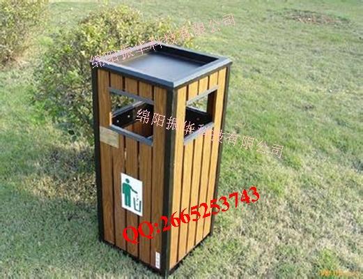 绵阳振华钢木单桶垃圾桶zh3006