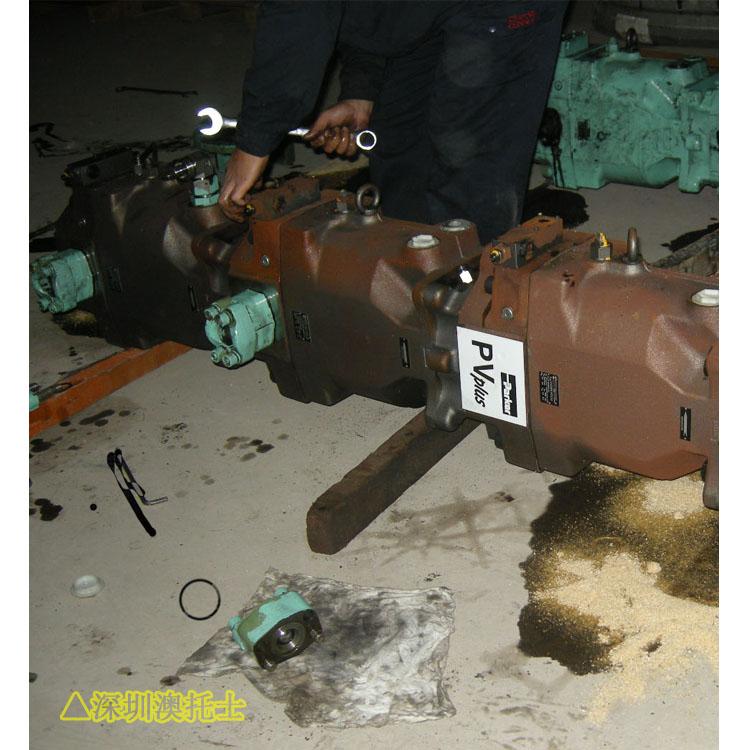 石煤机EBZ150Ⅱ型掘进机液压马达维修