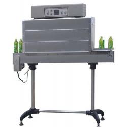 绿茶瓶身标签裹膜机 饮料瓶身标签热收缩机