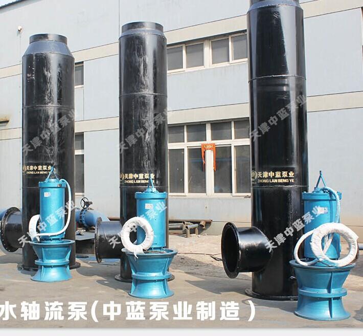 天津中蓝QZB型潜水轴流泵厂家