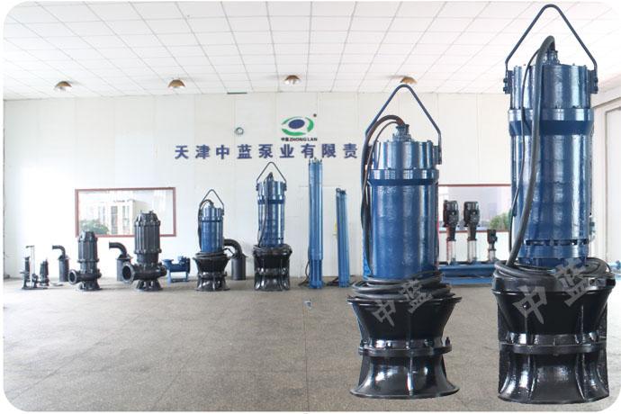 供应天津中蓝QZB不锈钢轴流泵