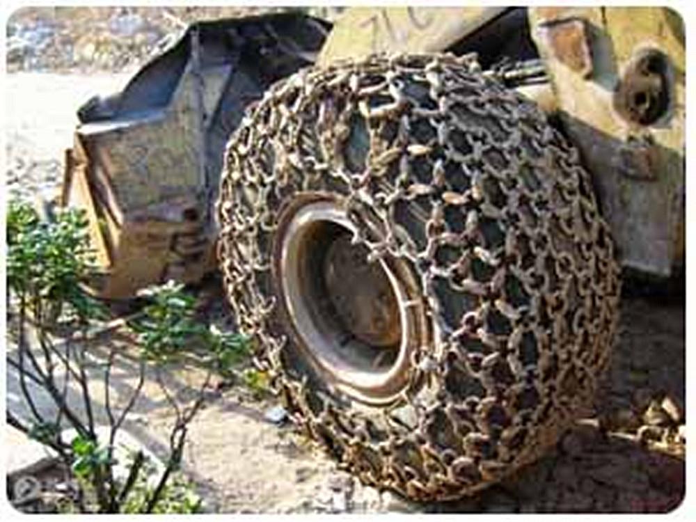 龙工20装载机轮胎防滑链16/70-20轮胎保护链