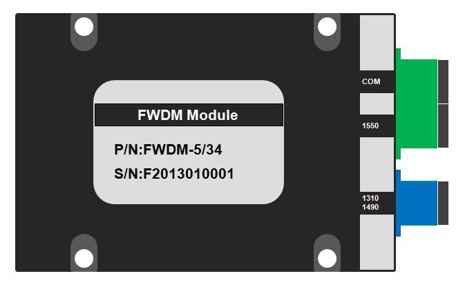 RFOGWDM波分复用器